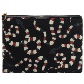"Snakes Velvet MacBook Pro 13"" Laptop Sleeve"