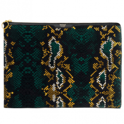 Snakeskin Velvet Macbook Pro 13″ Laptop Sleeve
