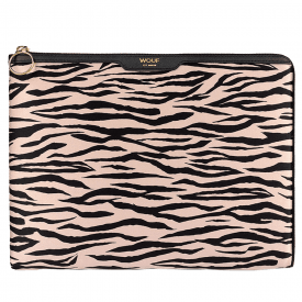Soft Tiger Satin iPad Sleeve
