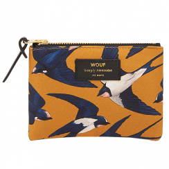 Swallow Zipped Small Pouch