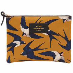 Swallow Zipper Large Pouch