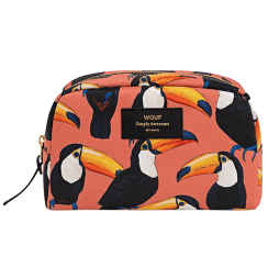 Toco Toucan Big Beauty Make up Bag