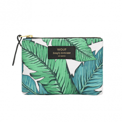 Tropical Zipped Small Pouch