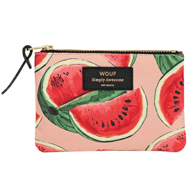 Watermelon Zipped Small Pouch