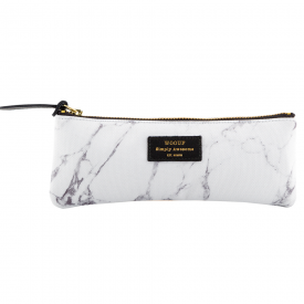 White Marble Pencil Case