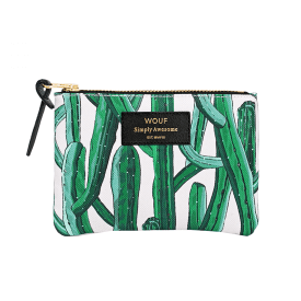 Wild Cactus Small Pouch